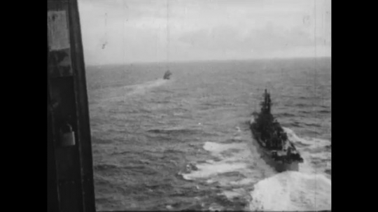 UNITED STATES: 1960S: Soviet ships spotted by US Air force