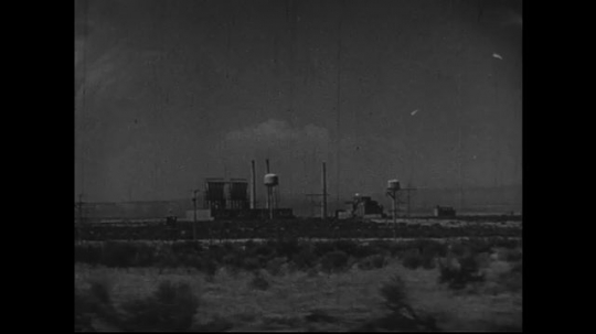 JAPAN 1940s: Weapons plants in New Mexico and Tennessee.