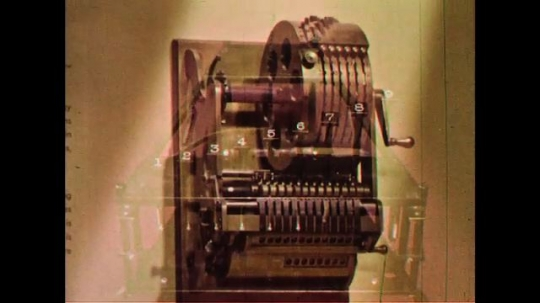 UNITED STATES 1960s: First practical rotary calculator developed in 1872.