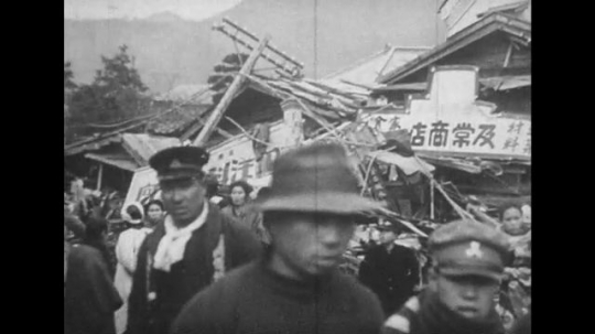 JAPAN: 1943: Japan rebuilds itself years after the 1923 earthquake.