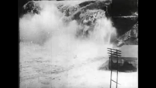 ALASKA 1960s: Heavy flooding in 1952.