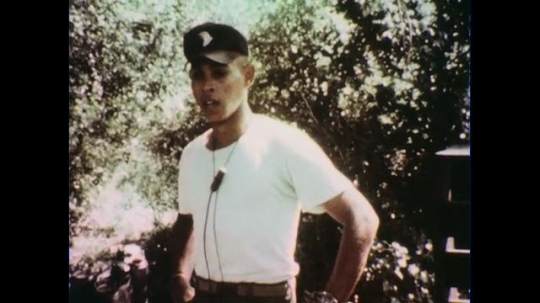 VIETNAM 1960s: Officer speaking / Officer in front of soldiers / Close up of soldier.