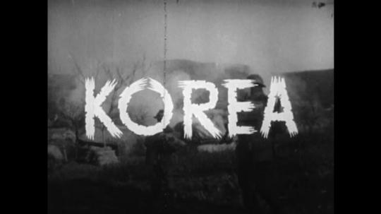 UNITED STATES 1950s: In Korea, direct military action is used to conquer the free people.