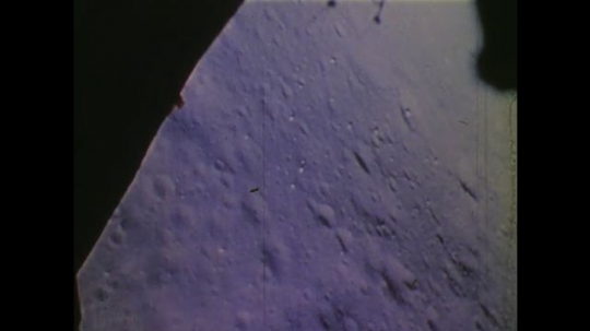 1970s: UNITED STATES: view of moon