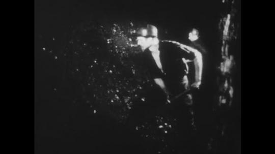 POLAND: 1960s: men work in mines.
