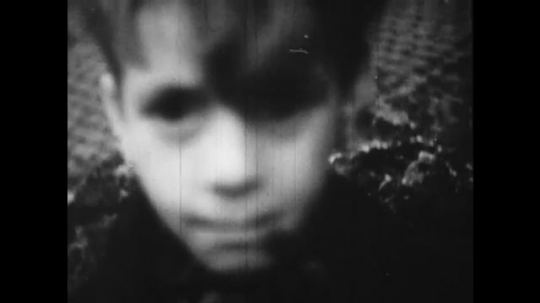 Europe 1940s: close up of child