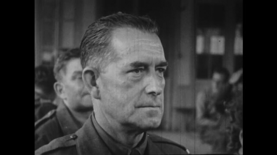 Europe 1940s: close up of man