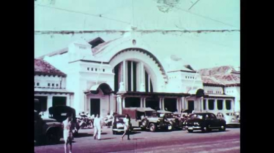 1950s: National Post Office. President of Indonesia