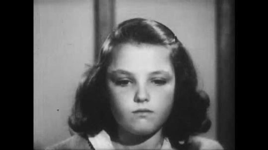 1940s: A girl