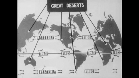 1940s: Map shows