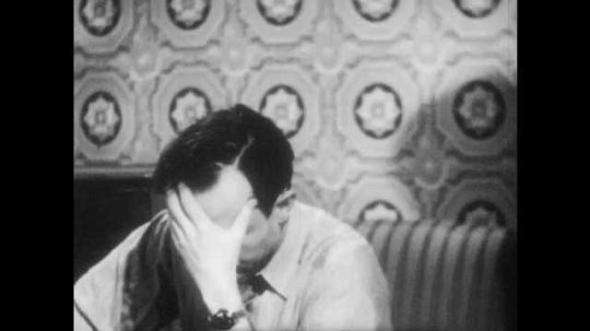 1940s: Man has an idea. Man reads letter out loud.