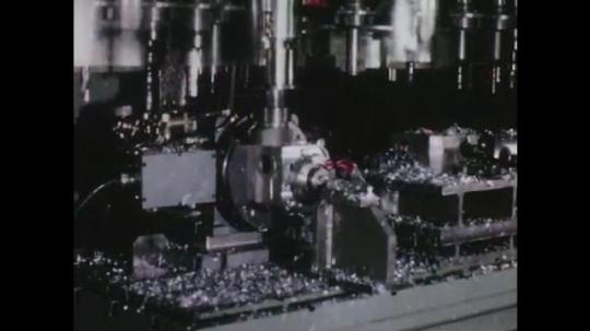 1960s: Machine at work. Machine files part