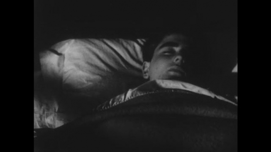 1950s: UNITED STATES: Close up boy