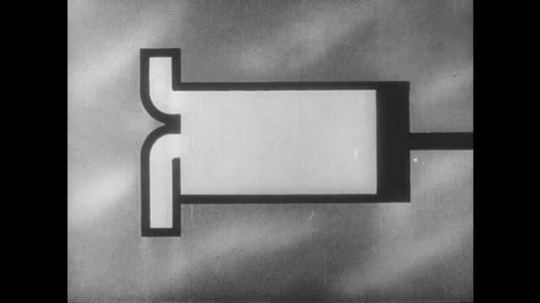 1950s: UNITED STATES: Animation of second stroke compression, and third stroke power. Exhaust at fourth stroke of piston.