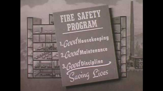 1950s: Text outlines