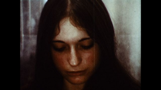 UNITED STATES: 1970s: close up of girl