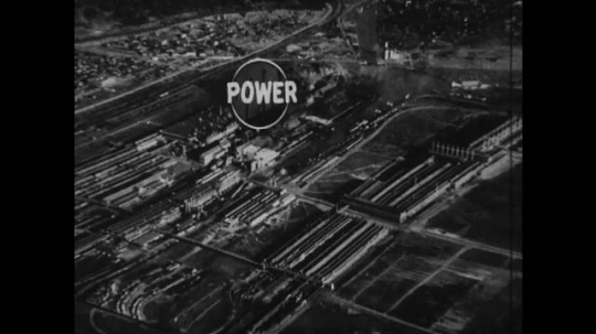 UNITED STATES 1930s-1940s : An aerial view of Henry 's River Rouge factory/plant.